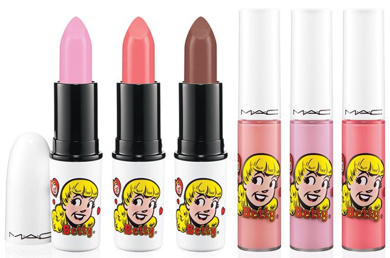 mac betty lips