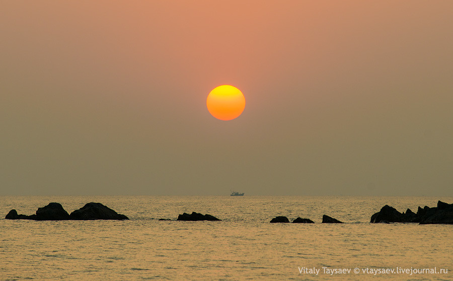 Goa sunset