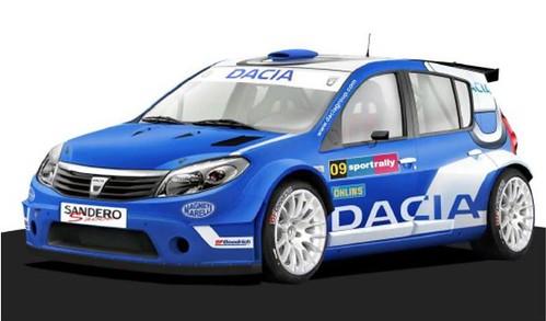 Dacia Sandero Rallye Cup 2013 - Proto