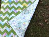 Zigzag Baby Quilt by quirky granola girl
