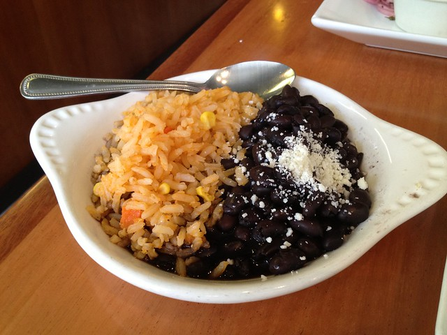 Rice and beans - Chilango