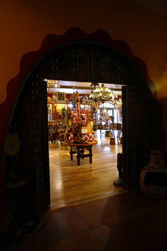 La Posada - Entrance to Reception and Trading Post