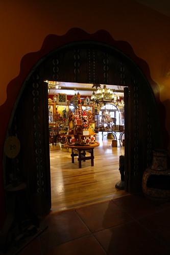 La Posada - Entrance to Reception and Trading Post