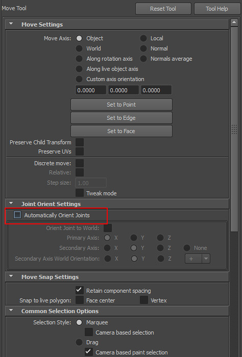 Maya] Parent Changes Orientation When Joint is Moved | 3D