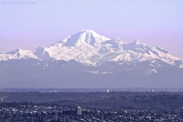 Mount Baker on a clear day (Explore: 17.02.2013)