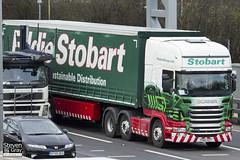 Scania R440 6x2 Tractor - PX60 AZT - Karen Patricia - Eddie Stobart - M1 J10 Luton - Steven Gray - IMG_1769