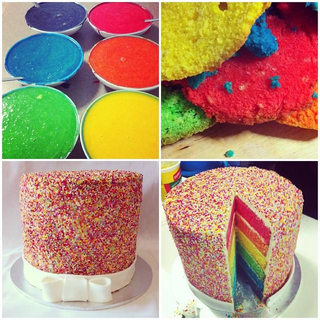 tailahs cake collage