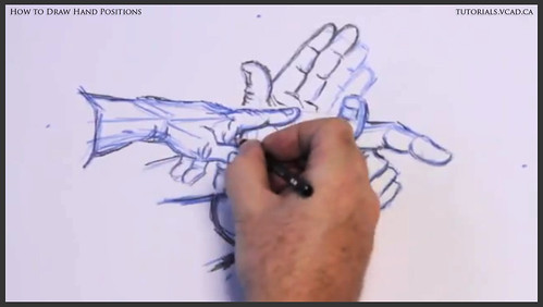 learn how to draw hand positions 013