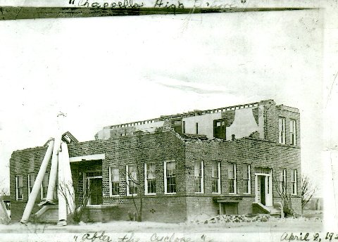 April 4, 1923 Tornado Chappells School