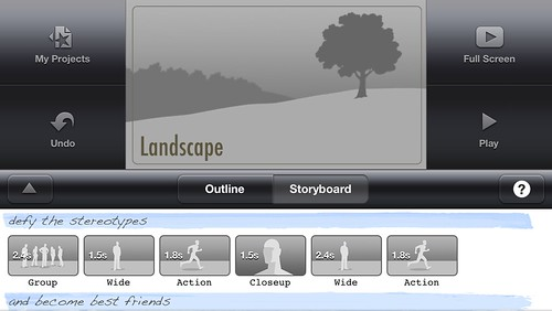iMovie for iPhone Trailer Project