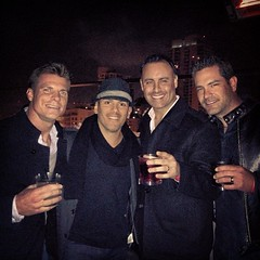 Manny's 40th Bash, boys are back in town!!