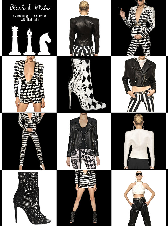 Balmain Spring Trend Black and White 1