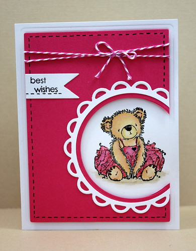 Tutu Bear Note Set Pink