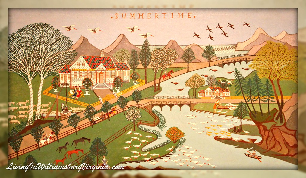 Summertime Folk Art