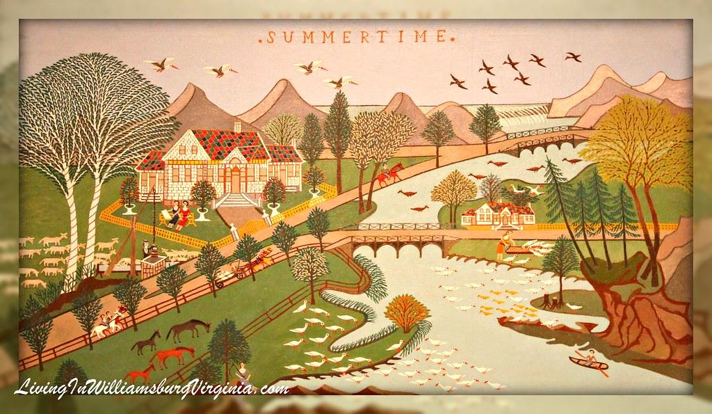 Summertime Folk Art