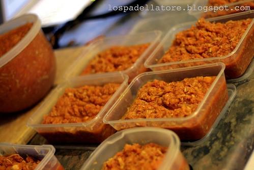 Tuna tomato carrot sauce