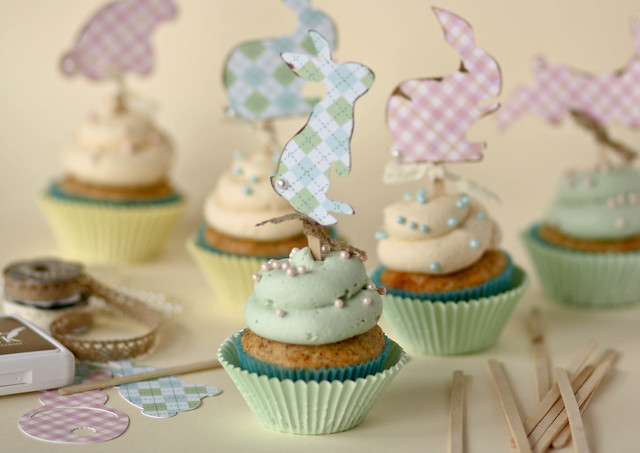 Shabby Chic Easter Cupcakes - Confessions of a Cookbook Queen