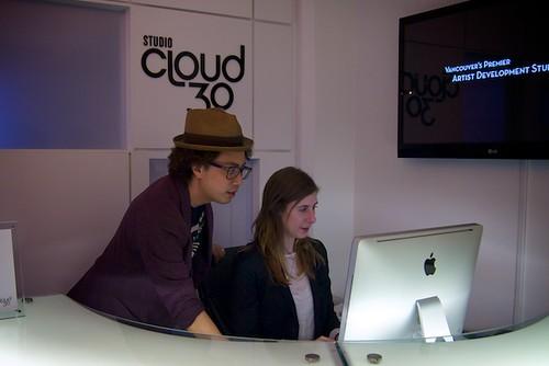 Visiting Studio Cloud 30