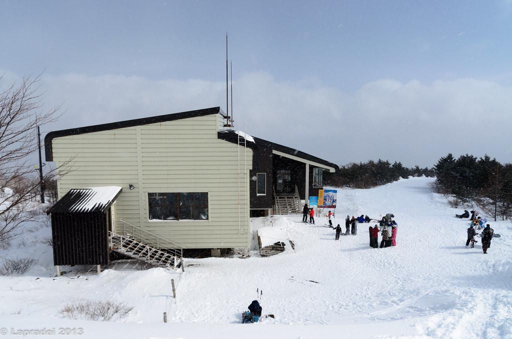 20130210 あだたら高原スキー場 ゴンドラ終点