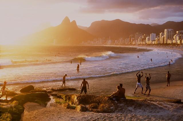 La spiaggia di Ipanema, Brasile