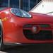 2007 Porsche Cayman 5spd Guards Red Black in Beverly Hills @porscheconnection 725