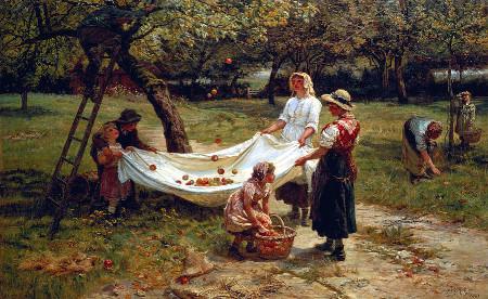 the-apple-gatherers-frederick-morgan