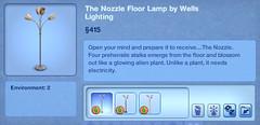 The Nozzle Floor Lamp by Wells Lighting