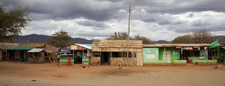 Roadside business district