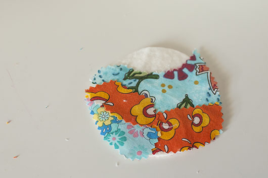 scrappy flower applique and coaster_9