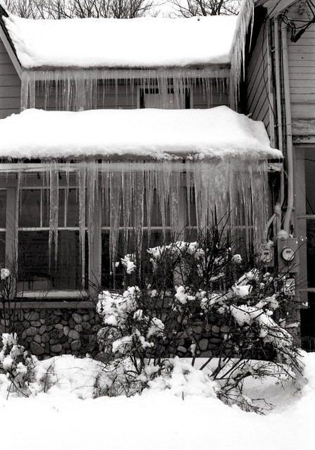 Some Serious Icicle Action