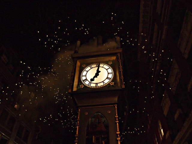 Magical Steam Clock