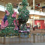 Jersey Gardens Outlet Mall Easter Display