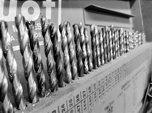 Organized drill bits