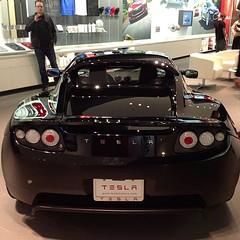 automobile, tesla, automotive exterior, tesla roadster, vehicle, automotive design, auto show, land vehicle, supercar, sports car,