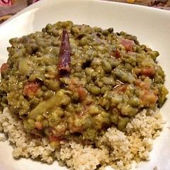 Mung bean curry #food