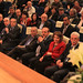 رئيس الوزراء خلال حفل الاعلان عن جائزة محمود درويش للإبداع 2013  في جامعة النجاح الوطنيه في مدينة نابلس