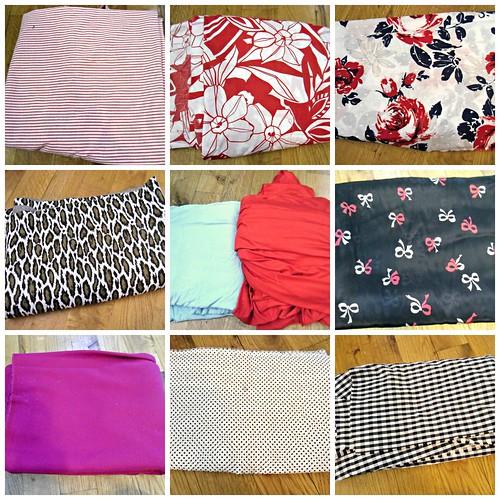 Fabric spoils, 2