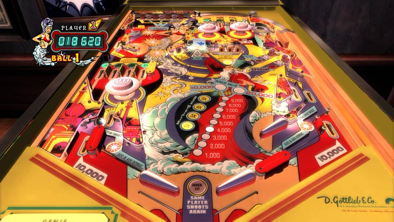 The pinball arcade confirmado para o ps4 dlcs de star for Pinball de mesa