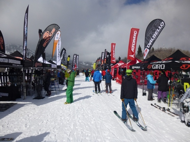 Demos at Snowbasin