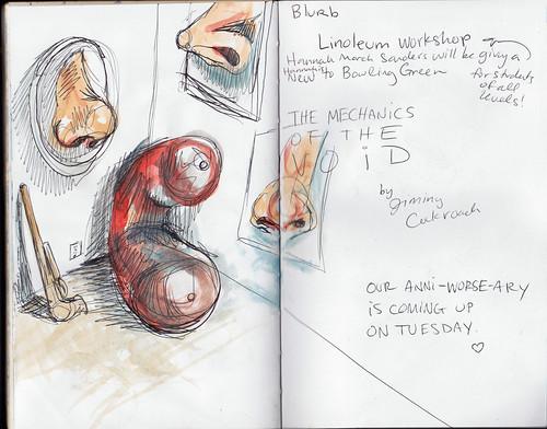 Recent Sketchbooking