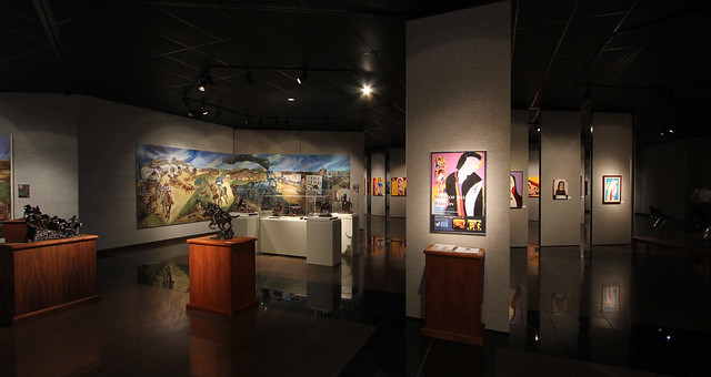 Shafer Art Gallery Interior