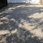 Exposed Aggregate Driveway With Salt & Pepper Rock Close Up