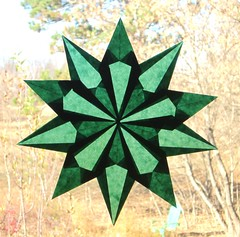 Green 10 Pointed Star
