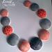 Collar rojo y azul by krisspp