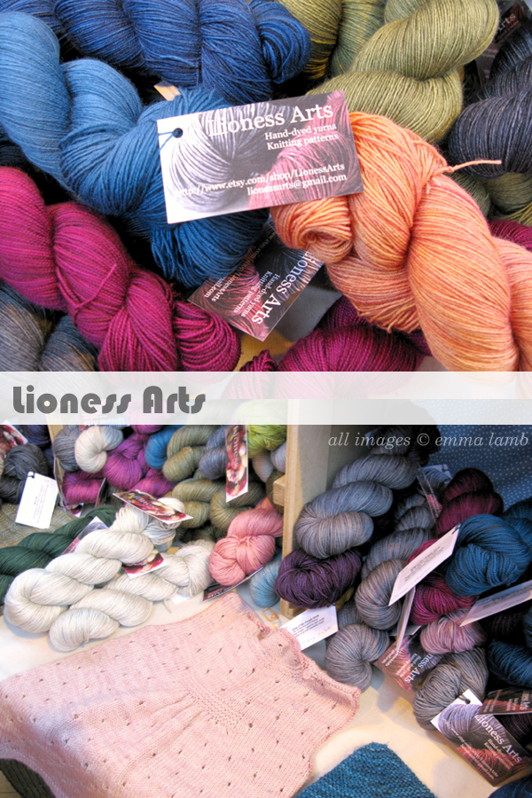 Gorgeous colours on Lioness Arts stand! | Emma Lamb