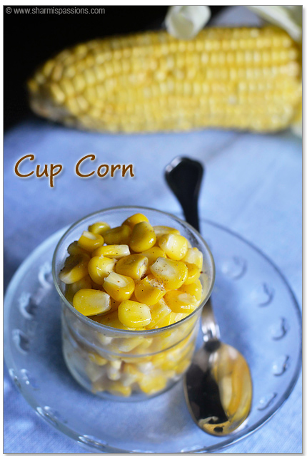 Cup Corn Recipe