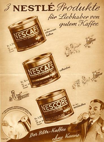 NESCAFÉ 75 YEARS: 1930s