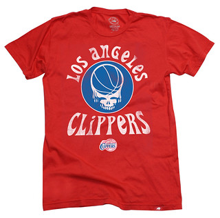 Los Angeles Clippers Grateful Dead Shirt
