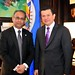 Assistant Secretary General Receives Foreign Minister of El Salvador