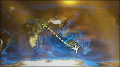 Deuxième partie du vol : Melbourne - Dubai !